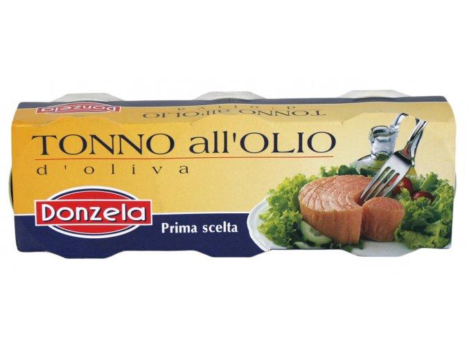 Tuniak v olivovom oleji Donzela 3x80g