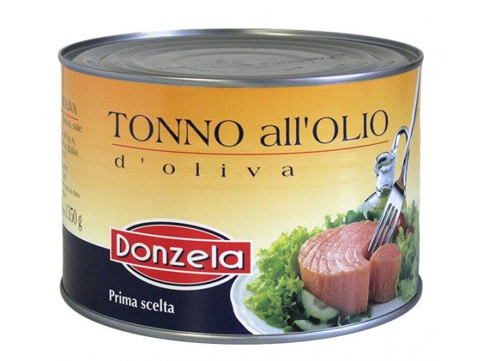 Tuniak v olivovom oleji Donzela 1,73kg