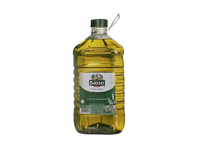 Panenský olivový olej-PET Basso 5l