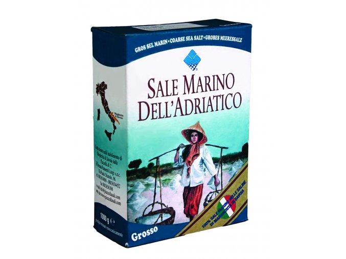 Morská soľ hrubá Piazzolla 1kg