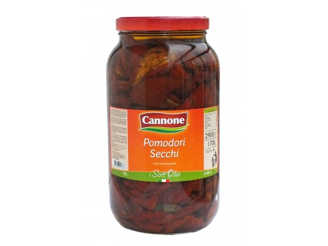 Sušené paradajky v oleji Cannone 2,9kg
