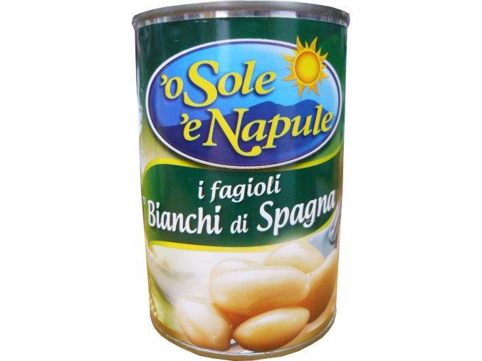 Fazuľa veľká biela Bianchi di Spagna O Sole e Napule 400g