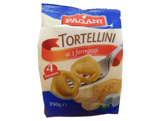 Torteliny (tortellini) syrové Pagani 250g