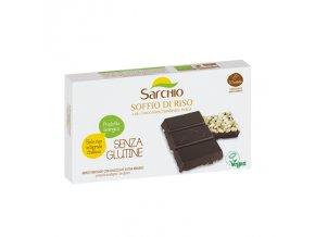 Čokoláda horká s burizónami bezlepková Sarchio 75g
