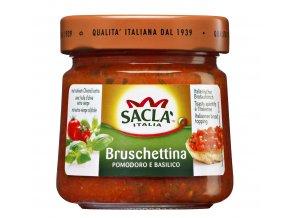 Bruschettina s bazalkou Sacla 190g