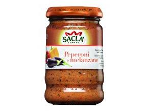 Baklažán s paprikou Sacla 190g