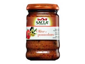 Olivy s paradajkami Sacla 190g