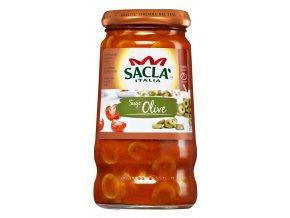 Paradajková omáčka s olivami Sacla 420g