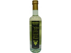 Biela talianska zálievka z vínneho octu Prezioso 500ml