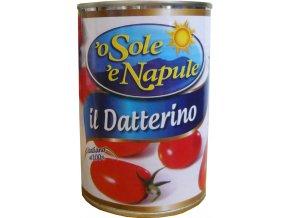 Paradajky oválne Datterini O Sole e Napule 400g