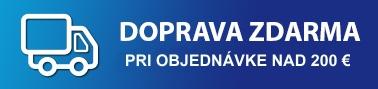 Dopravu strešných okien, roliet a žalúzií zabezpečujeme zdarma po celom Slovensku už u objendávek nad 200 EUR.