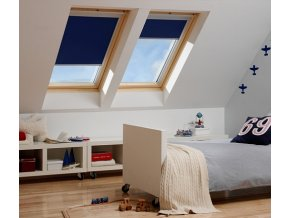 Úplne zatemňujúce rolety pre strešné okná VELUX
