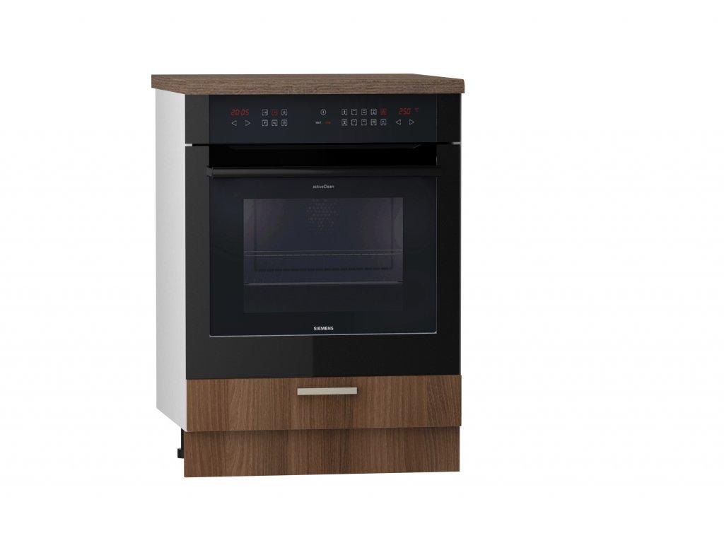 Dolní skřínka 60cm - spotřebičová Loft (Barva šedá)