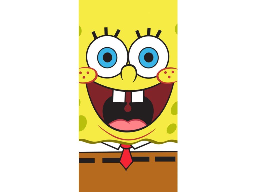 Dětská osuška Sponge Bob Face