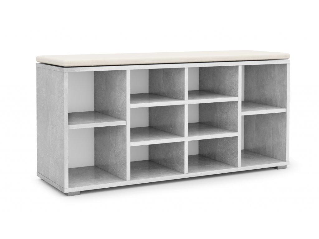 Velký botník ARIZONA - šedý / atelier