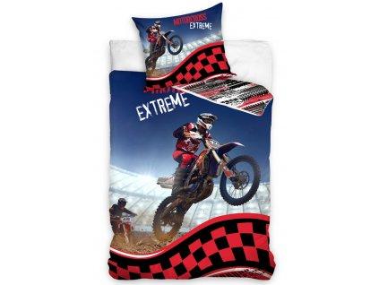 Bavlněné povlečení Motocross Extreme