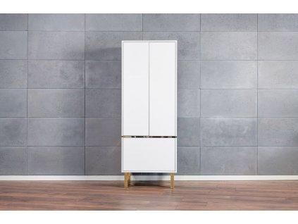 Šatní skříň MAGYK, bílá