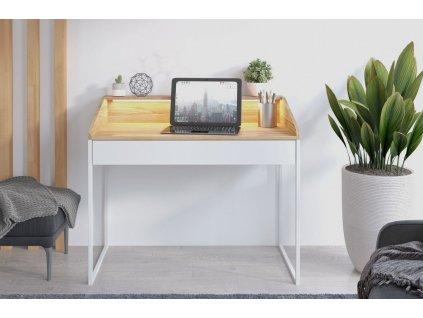 Moderní psací stůl FINAN s osvětlením