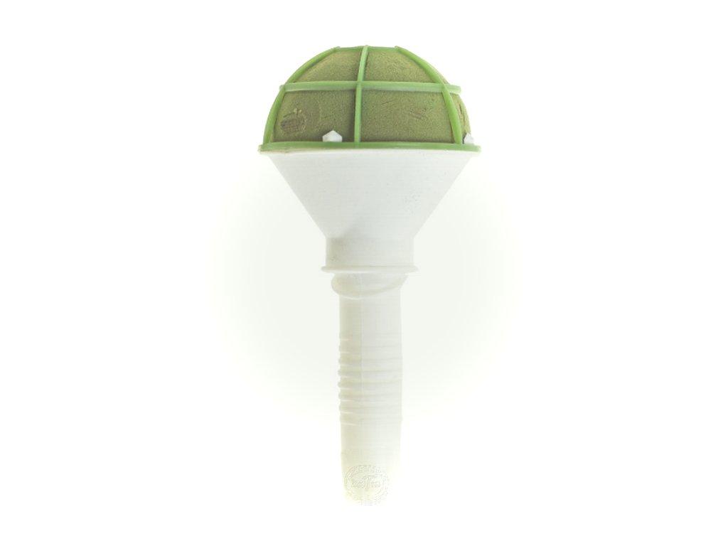 pena zelena mikrofon