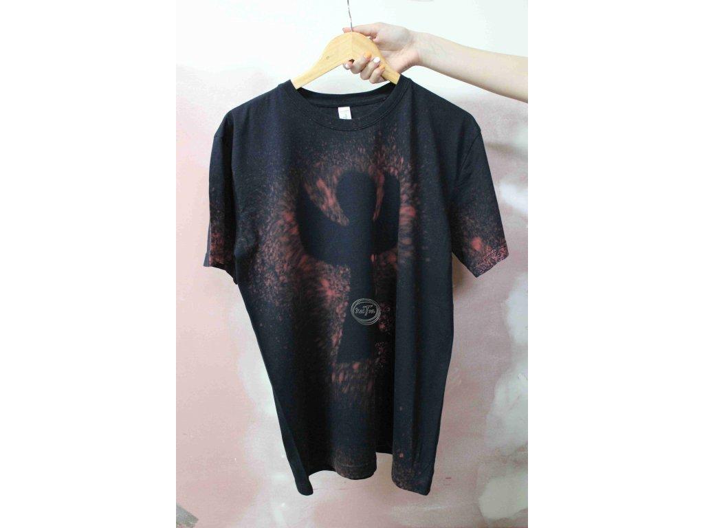 t-shirt uni XL batik cotton black