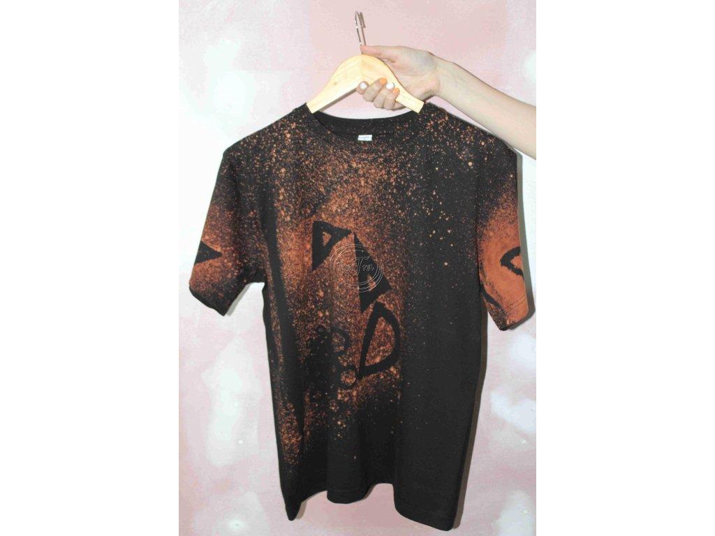 t-shirt uni M batik cotton