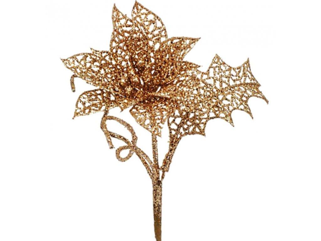 97536 kvet zlatý 35cm