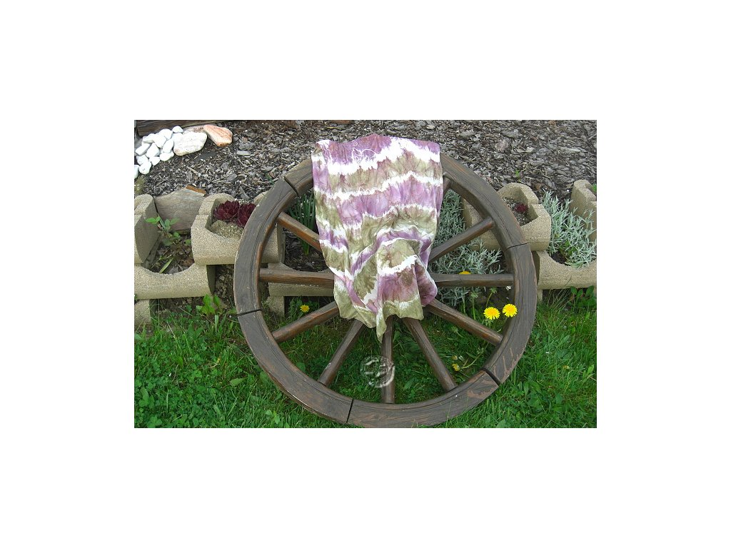 silk scarf 150x40 batik hbt8