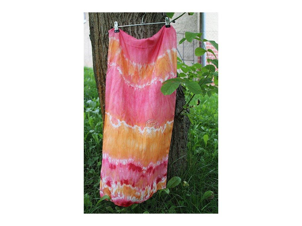 silk scarf 50x40cm bati