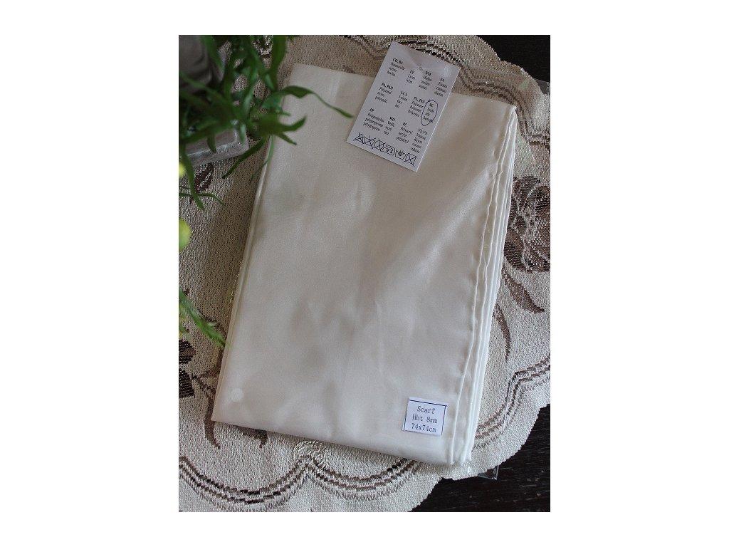 silk scarf hodvábna šatka HBT 8-74x74cm