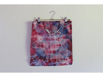 canvas bag recy mauve