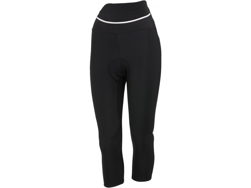 Dámske 3/4 zateplené nohavice Castelli Cromo (Farba 3/4-Castelli-Cromo-Čierno-biela, Veľkosť XS)