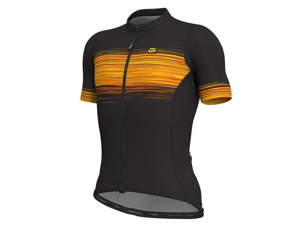ALÉ SOLID START (Farba ALÉ-SOLID-START-pansky-black-fluo yellow, Veľkosť M)