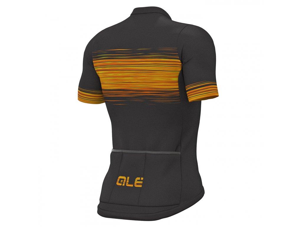 ALÉ Solid Start  Pánsky letný dres s krátkym rukávom