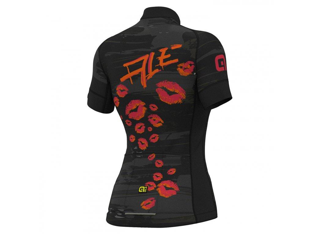 ALÉ Graphics PRR Romantic W  Dámsky letný dres s krátkym rukávom