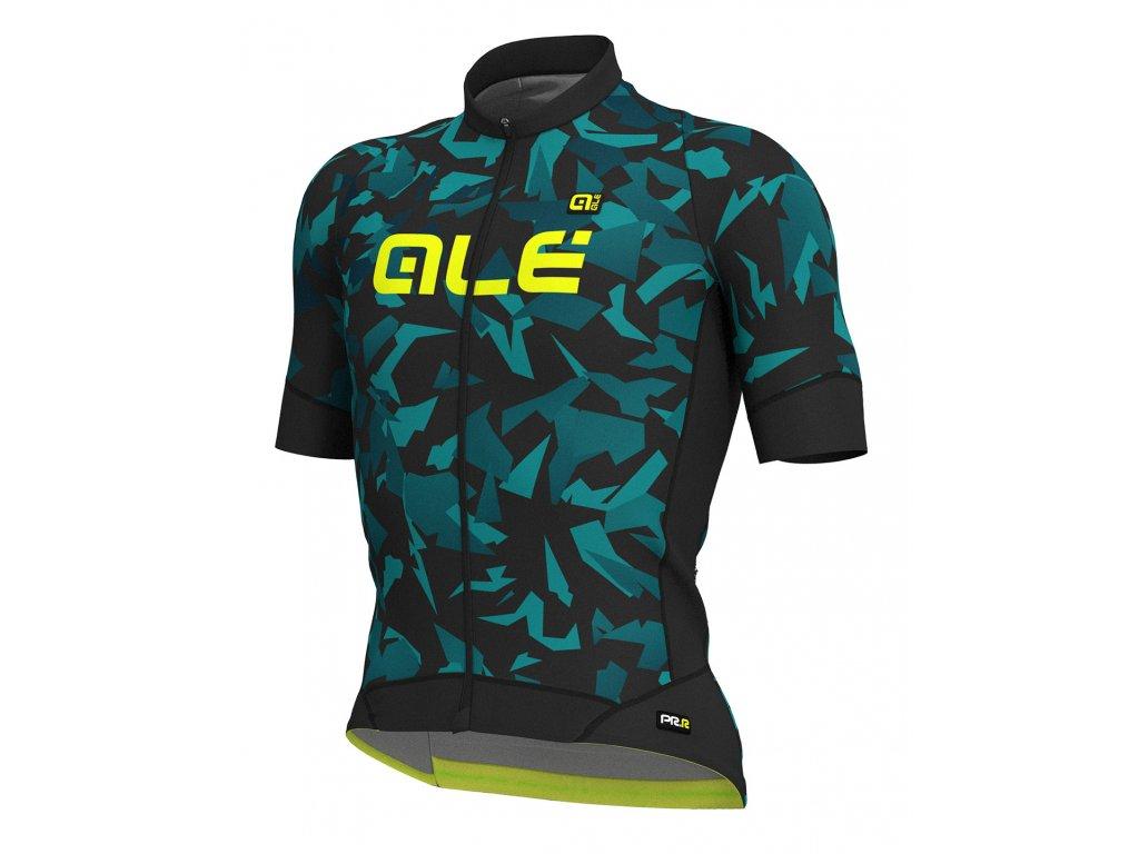 ALÉ Glass (Farba ALÉ-GRAPHICS-PRR-GLASS-pansky-black-army green, Veľkosť L)