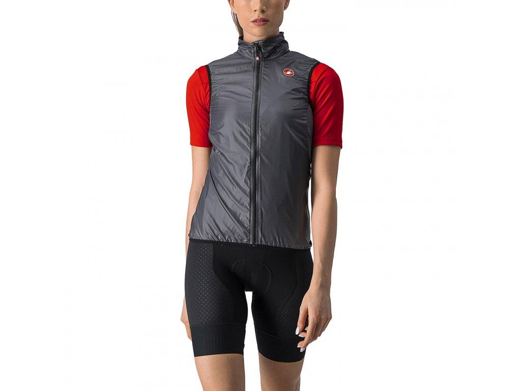 Castelli Aria W Vest (Farba Castelli-ARIA-W-strieborná-šedá, Veľkosť XS)