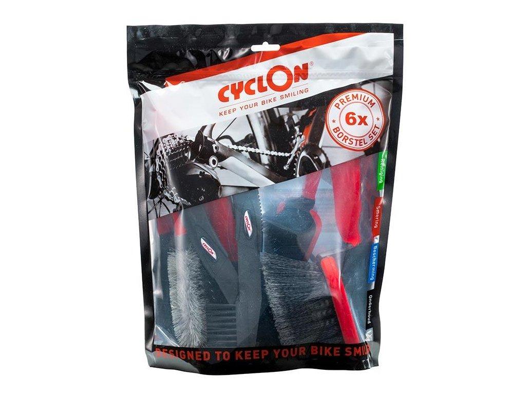 63419 cyclon bike care brush kit