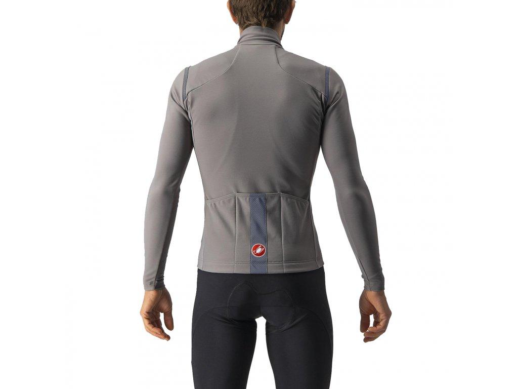 Castelli TUTTO NANO RoS (Farba CST-Tutto-Nano-RoS-656 červeno oranžová, Veľkosť XXL)