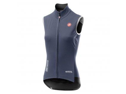 Dámska vesta Castelli Perfetto RoS (Farba Castelli-Perfetto-RoS-damska-vesta-Marine blue, Veľkosť XS)