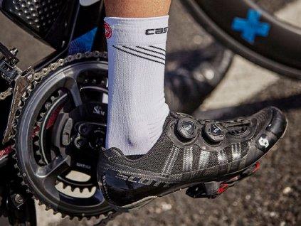 Dámske ponožky Castelli Alta W (Farba Castelli-Alta-W-Modrá, Veľkosť S/M)