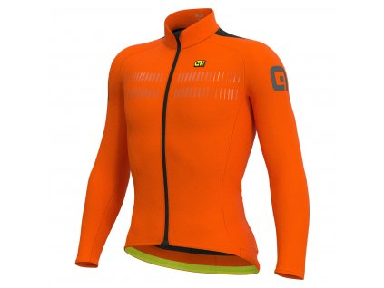 Dres s dlhým rukávom  ALÉ CLIMA PROTECTION 2.0 WARM AIR (Farba ALÉ-CLIMA-PROTECTION 2.0-WARM-AIR-fluo orange, Veľkosť L)