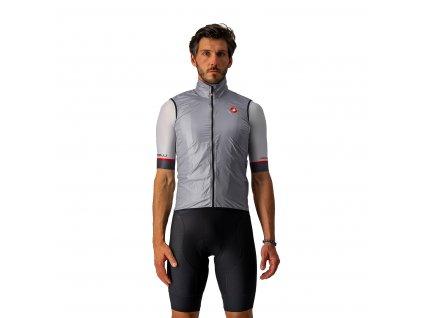 Castelli Aria Vest (Farba Castelli-ARIA-vesta-strieborná-šedá, Veľkosť XXL)