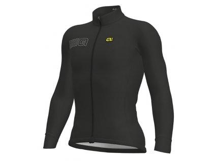 ALÉ Solid Color Block  Pánsky cyklistický dres s dlhým rukávom