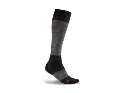 Craft ALPINE WARM (Farba Craft-ALPINE-WARM-šedá čierna, Veľkosť 46-48)
