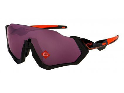 oakley flight jacket ignite black prizm road 01