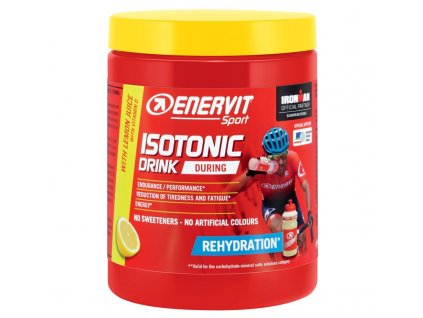isotonic drink lemon