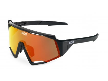 okuliare koo spectro black red 01