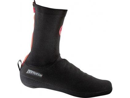 Castelli Perfetto shoecover (Farba CST-Perfetto-shoecover-010 čierna, Veľkosť 47 - 48)