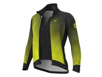 ALÉ PR-S Storm  Pánska zateplená cyklistická bunda s integrovanou vestou