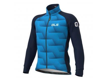 ALÉ Solid Sharp  Pánska zimná cyklistická bunda